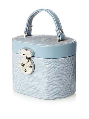 Rowallan of Scotland Charlotte Mini Jewelry Box, Dove Grey