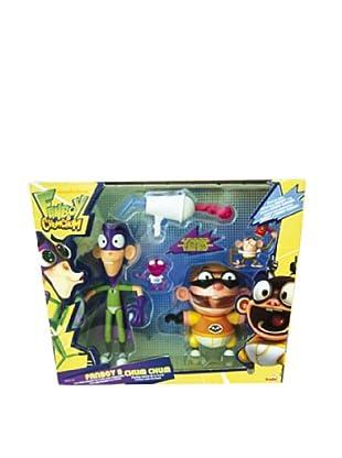 Simba Set 2 Figuras 15 cm Bote Lanzador Fanboy & Chum Chum