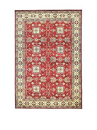 L'EDEN DEL TAPPETO Alfombra Uzebekistan Rojo/Multicolor 183 x 272 cm