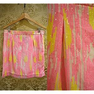 Tiara by Roshini Shah Sequin Haze Skirt