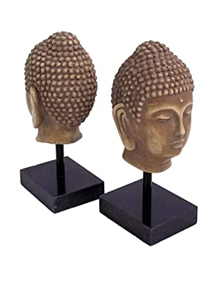 Buddha Bookends, Gold