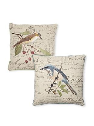 Set of 2 Bird Pillows