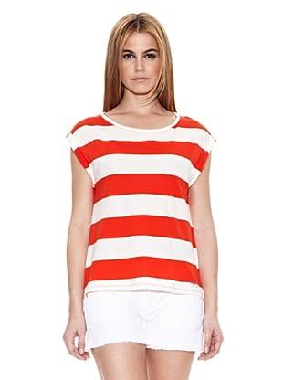 Pepe Jeans London Camiseta Willa (Rojo)