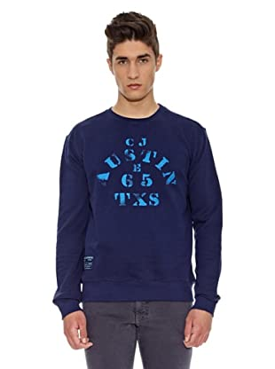 Carrera Jeans Sudadera Cuello Redondo (Azul)