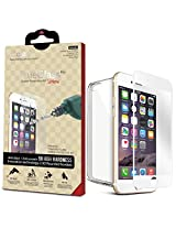 Icarez Full Fit Tempered Glass Highest Quality Screen Protector For Iphone 6 Plus - White
