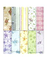Assorted A5 Paper Pack - Beautiful Flowers (Set of 40 sheets)