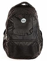 TLC Terminal Black Laptop 15.6 inch Backpack Bag