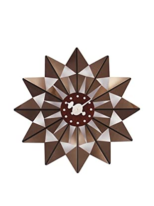 George Nelson Butterfly Clock, Brown