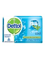 Dettol Cool Soap, 125g (Pack of 3) with Free Dettol Cool Soap, 125g
