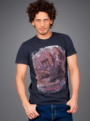 Wrangler Camiseta (Gris Oscuro)