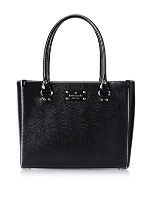 Kate Spade Women's Quinn Wellesley Satchel, Black
