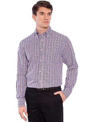 Hackett Camisa Cuadros (Morado / Marrón / Verde)