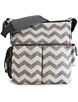 Skip Hop Duo Essential Diaper Bag Chevron