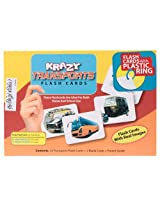Krazy Transports - Tamil Flash Cards With Ring