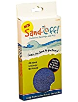 Water Sports Sand-Off! Sand Wipe Off Mitt Blue