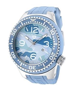 Swiss Legend Reloj Neptune Camouflage Turquesa