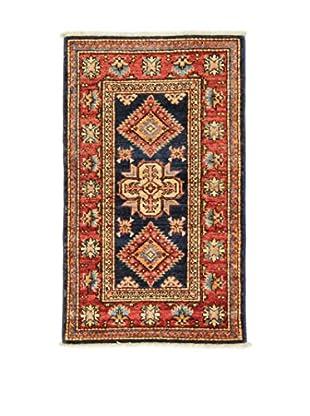 L'EDEN DEL TAPPETO Alfombra Kazak Super Rojo/Multicolor 57 x 96 cm