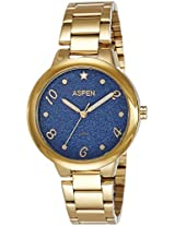 Aspen Analog Blue Dial Women's Watch - AP1952