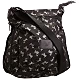 Re-uz Zip Up Messenger Crossbody Bag
