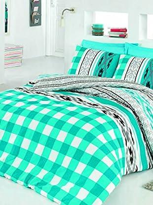 Colors Couture Bettdecke und Kissenbezug Ethnic
