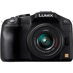 Panasonic Lumix G Series DMC-G6KK Compact System Digital Camera with 14-42mm II Lens Kit (Black)