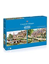 Gibsons Cotswold Villages Jigsaw Puzzles (2 X 1000 Piece) By Gibsons