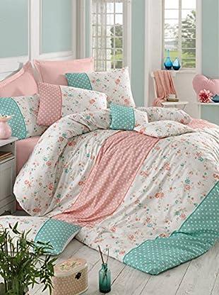 Colors Couture Bettdecke und Kissenbezug Emilly