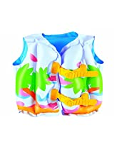 Bestway Toys Domestic Tropical Swim Vest, 17 x 12""