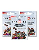 Disney Infinity Power Disc Packs - 3 Pack Bundle (One Each of Series 1, 2 & 3)