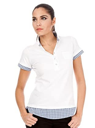 Cortefiel Poloshirt (Weiß)