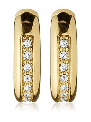 Dyrberg/Kern Ohrring Turid Sg Crystal goldfarben