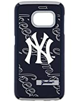 Forever Collectibles Dual Layered Case for MLB Samsung S6 Edge New York Yankees