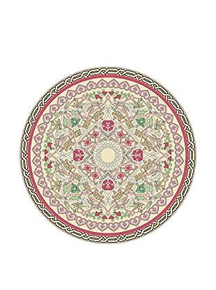 Ambiance Sticker Vinyl-Teppich Round Carpet Round Geometric Pattern