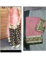 Shree Fashion Woman's Sandery With Dupatta [Shree (53)_Pink]