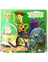 "Disney ""Toy Story 3"" Bath Time Scrub Bubble Book ""Counting Time"" Bath Book by Disney"