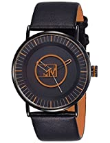 MTV Analog Black Dial Men's Watch - B7017OR