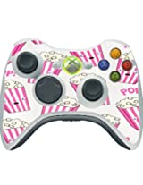 Popcorn Pink And White Boxes Cute Xbox 360 Wireless Controller Vinyl Decal Sticker Skin By Debbies Designs