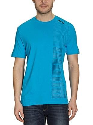 Puma T-Shirt Tech Graphic (blue danube)