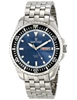 Sartego Men's SPQ63 Ocean Master Japanese Quartz Movement Watch