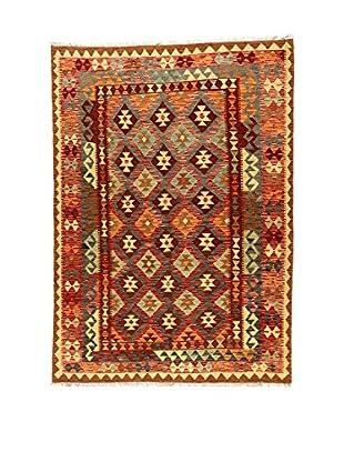 L'Eden del Tappeto Teppich Kilimp-Vegetale mehrfarbig 231t x t163 cm