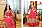 Karishma Kapoor in Pink Color Georgette Anarkali Suit