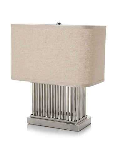 Trend Lighting Escape Table Lamp, Brushed Nickel