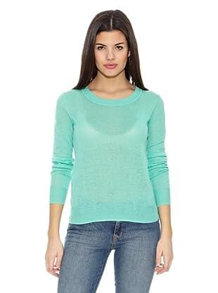 Springfield Jersey Bs-Round lino Sweater (Aguamarina)