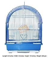 Bird Cage Curve Small Blue