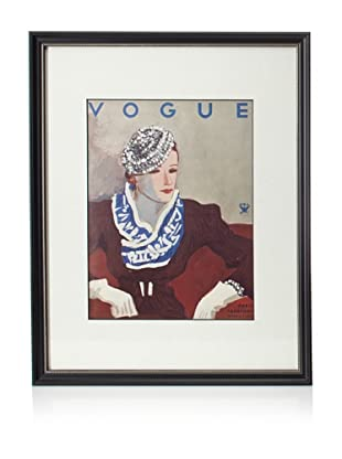 Original Vogue Cover from 1933 by Harriet Messerole