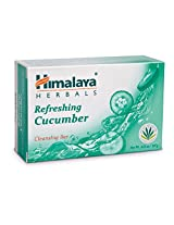 Himalaya Herbal Healthcare Refreshing Cucumber Cleansing Bar, 4.41 Ounce