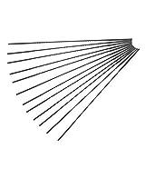 Delta Power Equipment Corporation 40-518-Precision Ground Sharp Scroll Saw Blades Style: No. 5