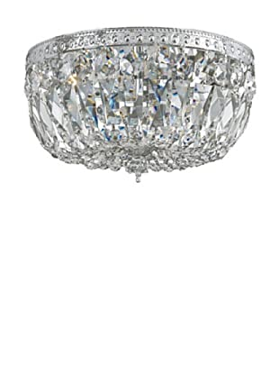 Gold Coast Lighting Crystal Basket, Polished Chrome
