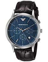 Emporio Armani Analog Blue Dial Men's Watch - AR2494