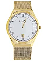 Rotary Golden Analog Men Watch GB0261321